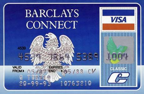 cheque card